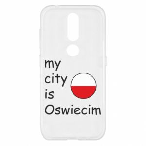 Nokia 4.2 Case My city is Oswiecim
