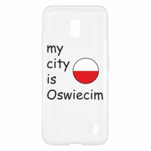Nokia 2.2 Case My city is Oswiecim