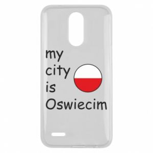Lg K10 2017 Case My city is Oswiecim