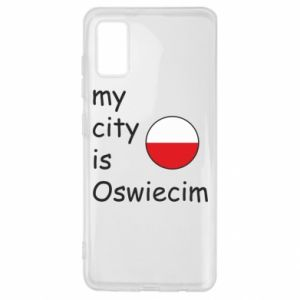 Samsung A41 Case My city is Oswiecim