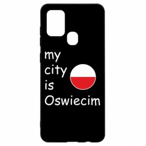 Samsung A21s Case My city is Oswiecim