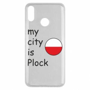 Huawei Y9 2019 Case My city is Plock