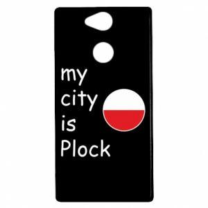 Sony Xperia XA2 Case My city is Plock