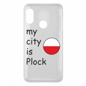 Etui na Mi A2 Lite My city is Plock
