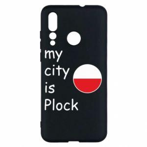 Huawei Nova 4 Case My city is Plock