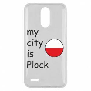 Lg K10 2017 Case My city is Plock