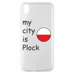 Huawei Y5 2019 Case My city is Plock