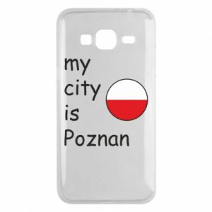 Samsung J3 2016 Case My city isPoznan