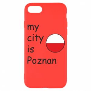 iPhone SE 2020 Case My city isPoznan