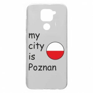 Xiaomi Redmi Note 9 / Redmi 10X case % print% My city isPoznan