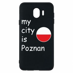 Samsung J4 Case My city isPoznan
