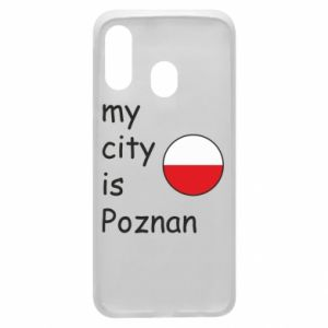 Samsung A40 Case My city isPoznan