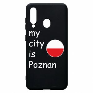 Samsung A60 Case My city isPoznan