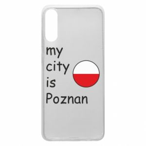 Samsung A70 Case My city isPoznan