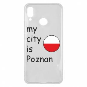 Huawei P Smart Plus Case My city isPoznan