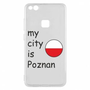 Huawei P10 Lite Case My city isPoznan