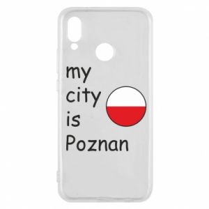 Huawei P20 Lite Case My city isPoznan