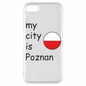 iPhone 7 Case My city isPoznan