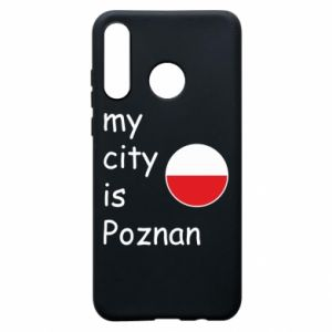 Huawei P30 Lite Case My city isPoznan