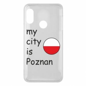 Mi A2 Lite Case My city isPoznan