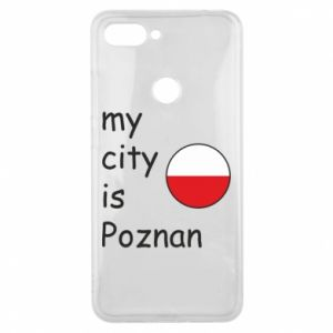 Xiaomi Mi8 Lite Case My city isPoznan