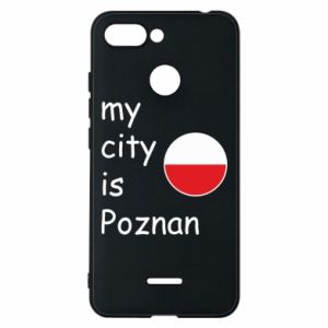 Xiaomi Redmi 6 Case My city isPoznan