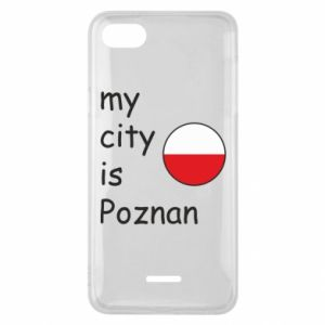 Xiaomi Redmi 6A Case My city isPoznan
