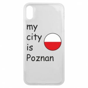iPhone Xs Max Case My city isPoznan
