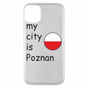 iPhone 11 Pro Case My city isPoznan