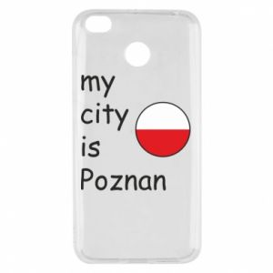 Xiaomi Redmi 4X Case My city isPoznan