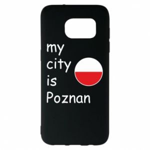 Samsung S7 EDGE Case My city isPoznan