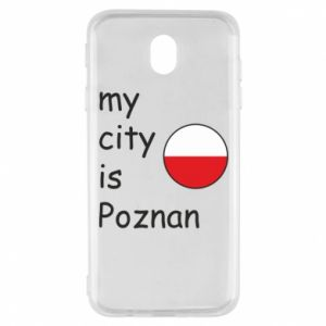 Samsung J7 2017 Case My city isPoznan