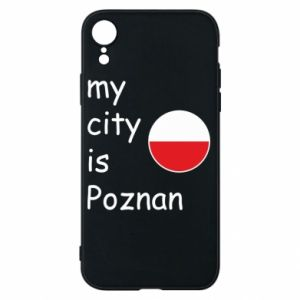 iPhone XR Case My city isPoznan