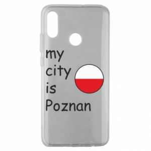 Huawei Honor 10 Lite Case My city isPoznan