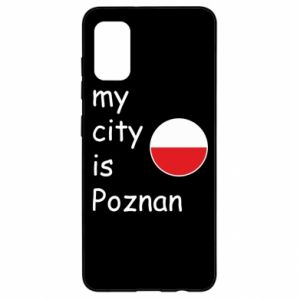 Samsung A41 Case My city isPoznan