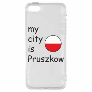 Etui na iPhone 5/5S/SE My city is Pruszkow