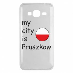 Etui na Samsung J3 2016 My city is Pruszkow