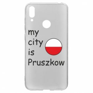 Huawei Y7 2019 Case My city is Pruszkow