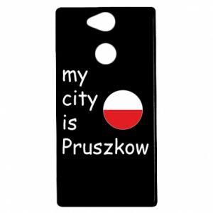 Sony Xperia XA2 Case My city is Pruszkow