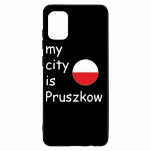 Samsung A31 Case My city is Pruszkow