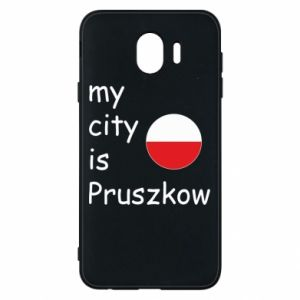 Etui na Samsung J4 My city is Pruszkow