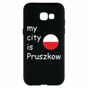 Etui na Samsung A5 2017 My city is Pruszkow