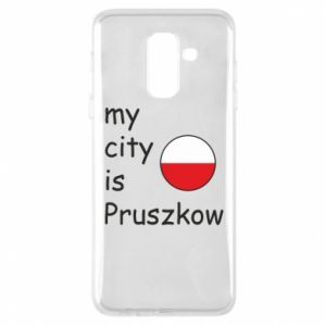 Etui na Samsung A6+ 2018 My city is Pruszkow