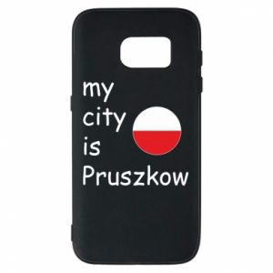 Etui na Samsung S7 My city is Pruszkow