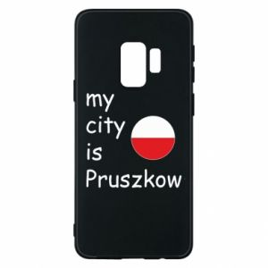 Etui na Samsung S9 My city is Pruszkow
