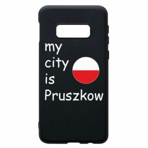 Etui na Samsung S10e My city is Pruszkow
