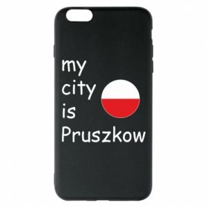 Etui na iPhone 6 Plus/6S Plus My city is Pruszkow
