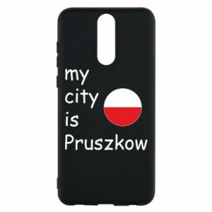 Etui na Huawei Mate 10 Lite My city is Pruszkow