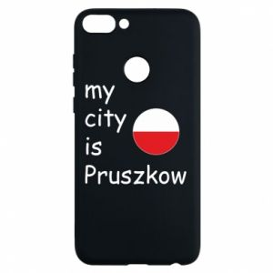 Etui na Huawei P Smart My city is Pruszkow
