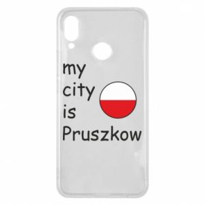 Etui na Huawei P Smart Plus My city is Pruszkow